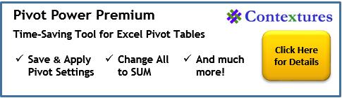 PivotPower Premium Add-in