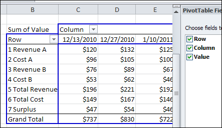 how to clear all table setting in excel 2010