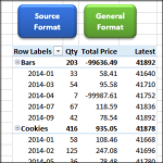 Copy Pivot Table Source Number Formatting
