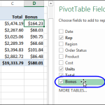 Create a Calculated Field in a Pivot Table