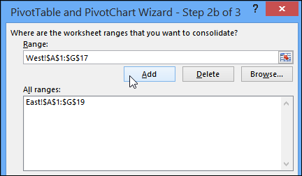 pivot table from data on multiple sheets  excel pivot tables the resulting pivot table only has one row field and all the other fields  are treated as values