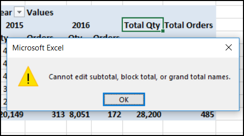 Excel Pivot Table Grand Total Headings - Excel Pivot Tables