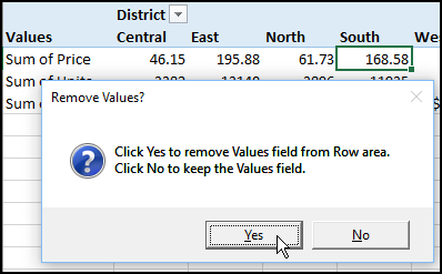 Remove Pivot Fields With a Macro