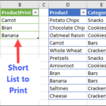 Excel Pivot Table Printing Macro