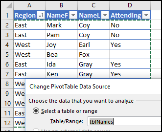 How to Troubleshoot Pivot Items Missing From Excel Pivot Table