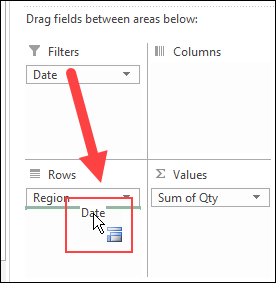 Stop Pivot Table Date Grouping - Excel Pivot Tables